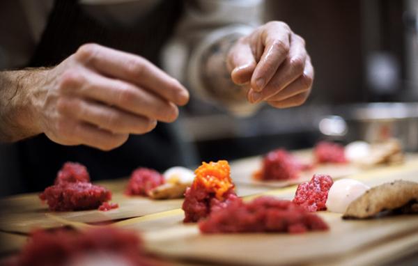 Il ristoro gli ingredienti