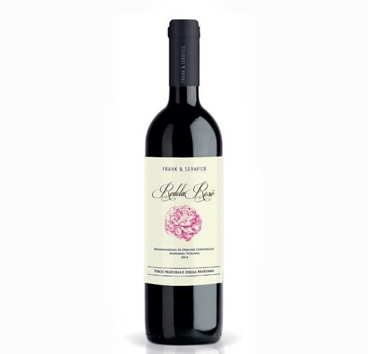 Vino Redola rosè Frank & Serafico